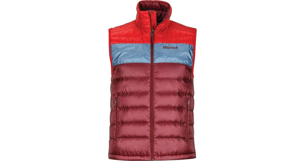 a8d42a815112f Lyst - Marmot Ares Vest in Red for Men