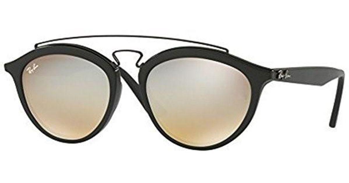 4ddcc64690 Lyst - Ray-Ban Ray Ban Gatsby Ii Silver Gradient Flash Sunglasses in Black