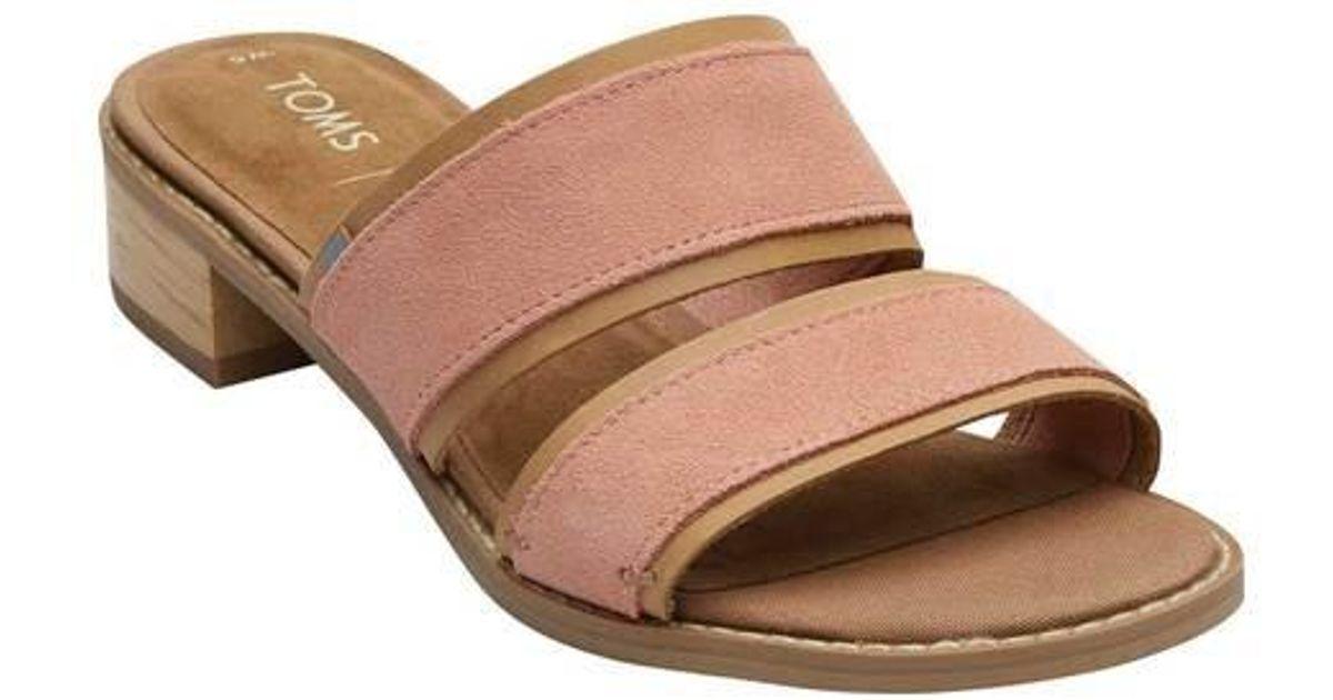 a88bab4ac57 TOMS. Women s Mariposa Two-strap Slide Sandal