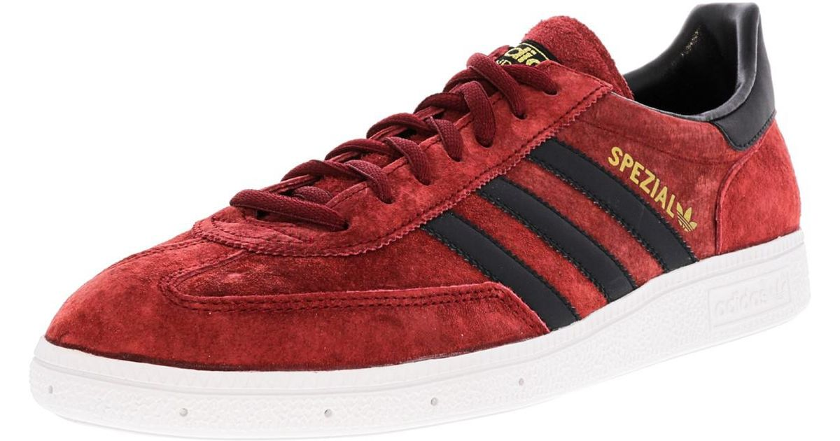 Lyst - Adidas Spezial Cardinal   Black Metallic Gold Ankle-high Suede  Fashion Sneaker - 10.5m in Red for Men 318cdb864e
