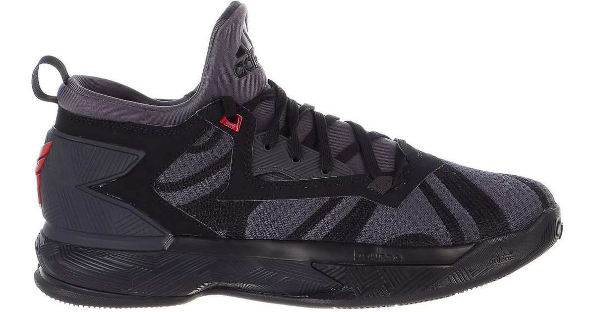 2d9a35279c99c8 Lyst - Adidas D Lillard 2 Basketball Shoes in Black for Men