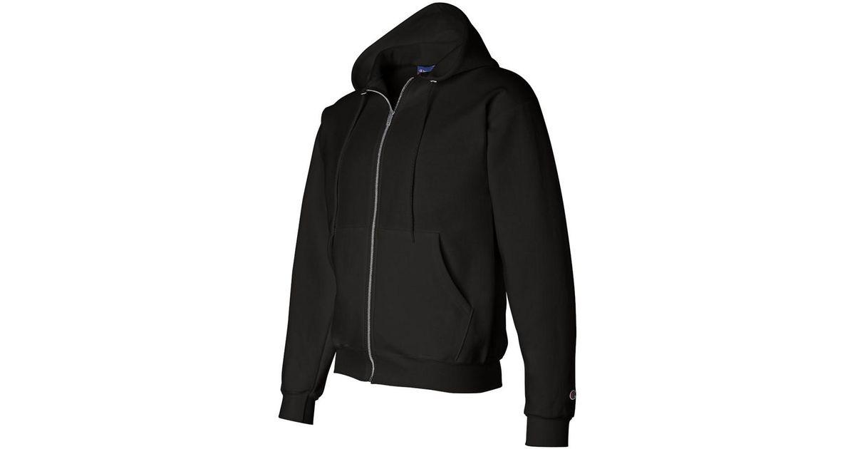0365714e84a0 Lyst - Champion Adult 50 50 Full-zip Hooded Sweatshirt in Black for Men