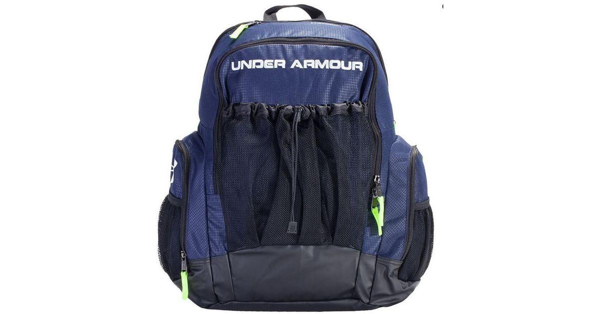 f08f9f3918 Lyst - Under Armour Ua Unisex Striker 4 Soccer Backpack Bag Blue Uasb-sbp4  in Blue for Men