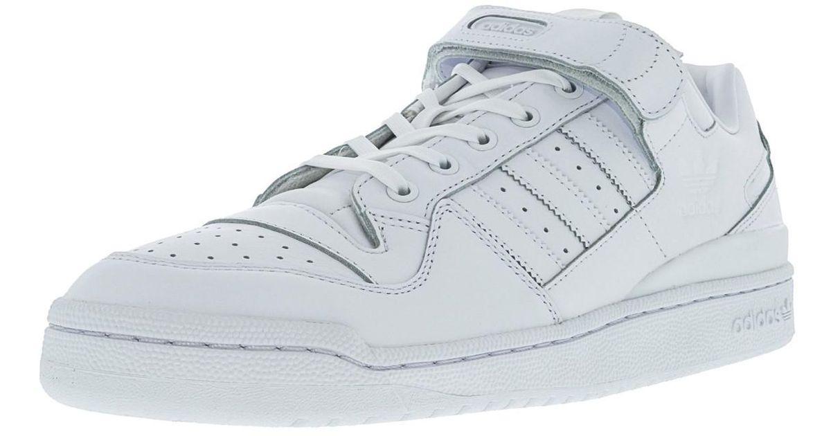 new style 0bf4f 1600e Lyst - adidas Ba7276  Forum Lo Refined Originals White Casual Shoe in  White for Men
