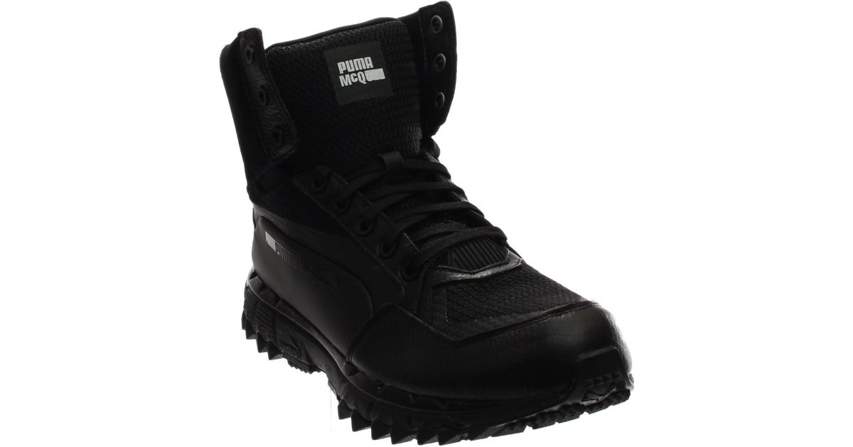 477a2514a26 Lyst - Puma Mcq Cell Track Mid in Black for Men