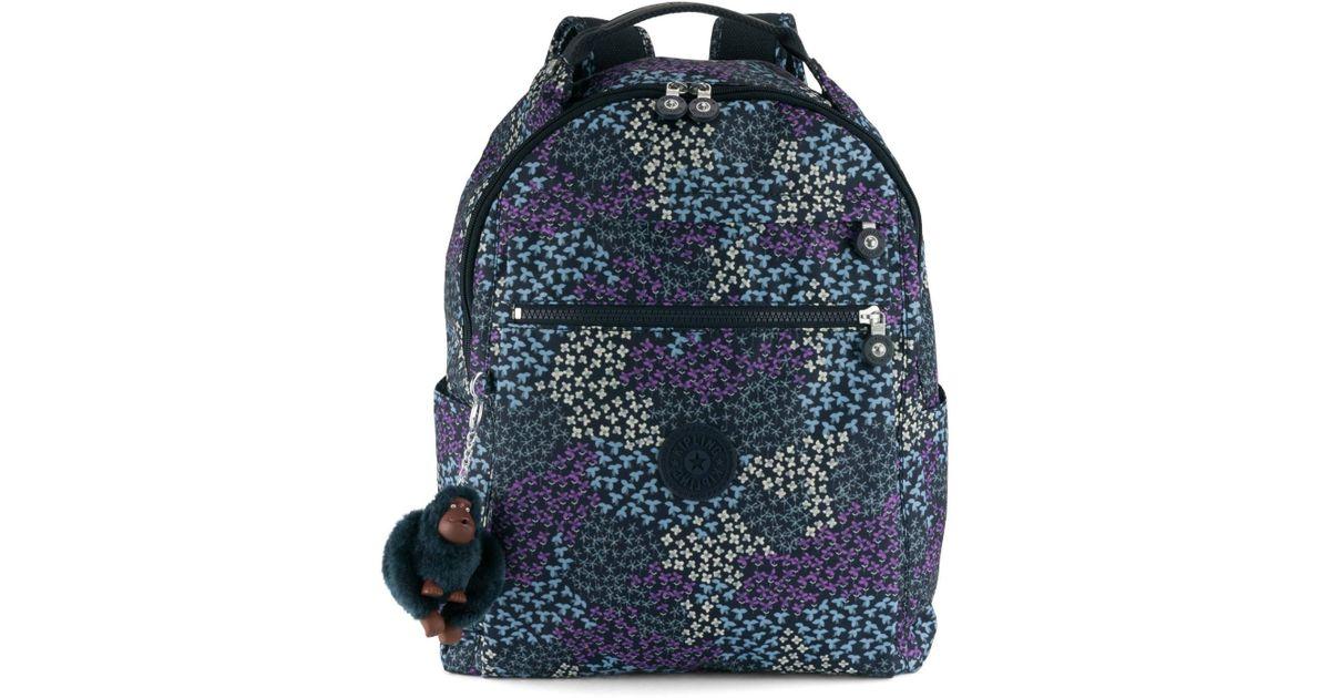Lyst - Kipling Micah Medium 15  Laptop Backpack in Blue ce0ce6a4558d0