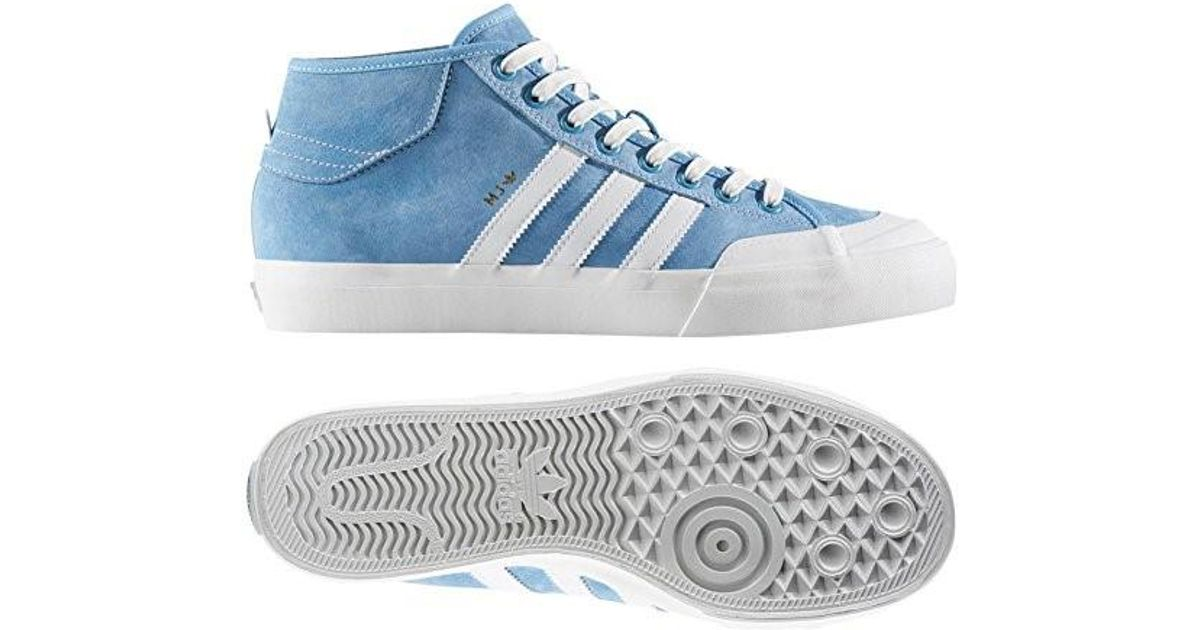 quality design cf937 6f605 adidas Matchcourt Mid X Mj (light Blue neo White gold Metallic) Skate  Shoes-10.5 in Blue for Men - Lyst