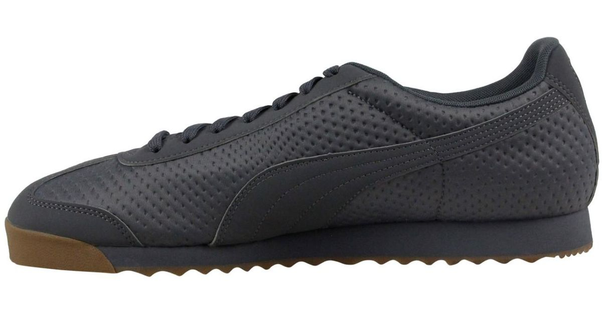 0283500755a6 Lyst - PUMA Roma Triemboss Athletic   Sneakers in Gray for Men