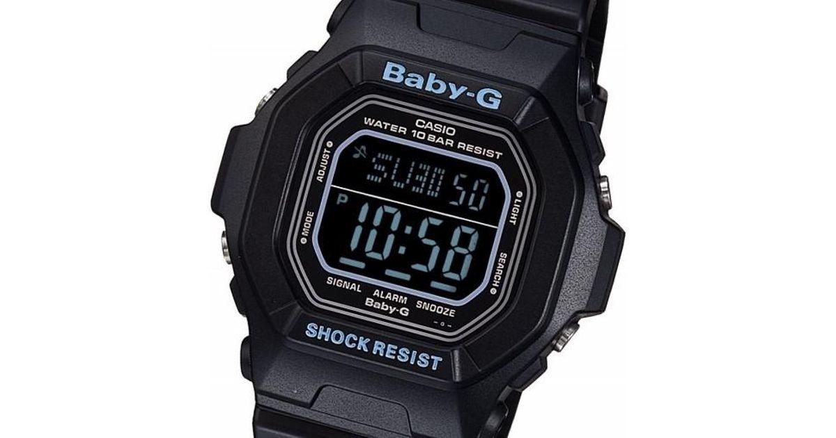 Lyst - G-Shock Rare Baby-g Digital Bg-5600bk-1er Fashion Ladies Watch  Limited Edition in Black 74014ad5b0