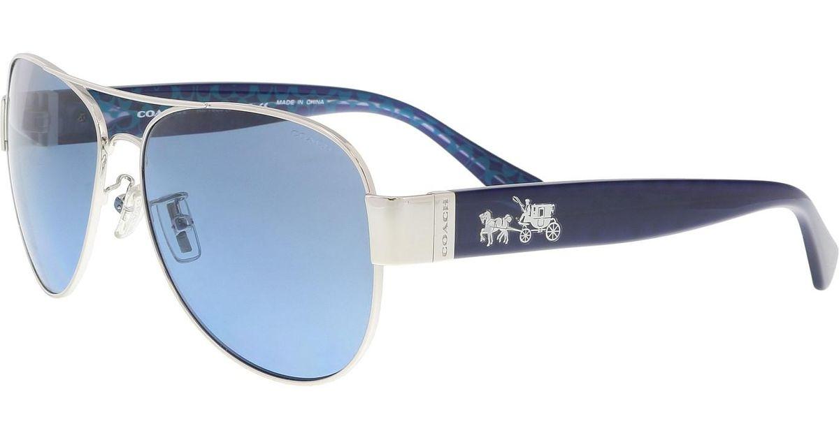 6bd781ed0c netherlands coach 0hc8215f asian fit 548980 sunglasses 3b2d5 63ebc   aliexpress lyst coach sunglasses hc 7059 927817 sig c in blue 2a660 7c453