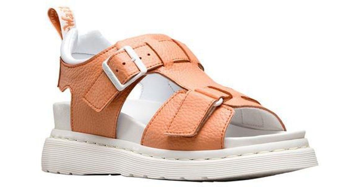 2bd0f4afbf0 Lyst - Dr. Martens Kamilah Adjustable 2-strap Sandal