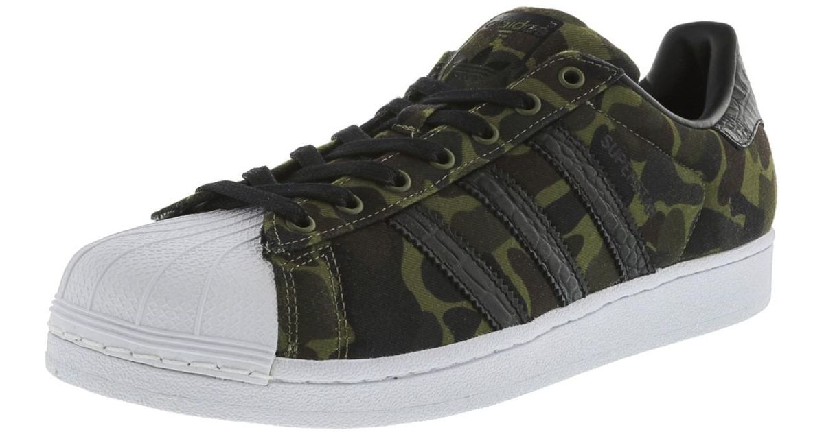 Lyst Adidas Canvas Superstar Core Black / White Ankle high Canvas Adidas Fashion f1de21