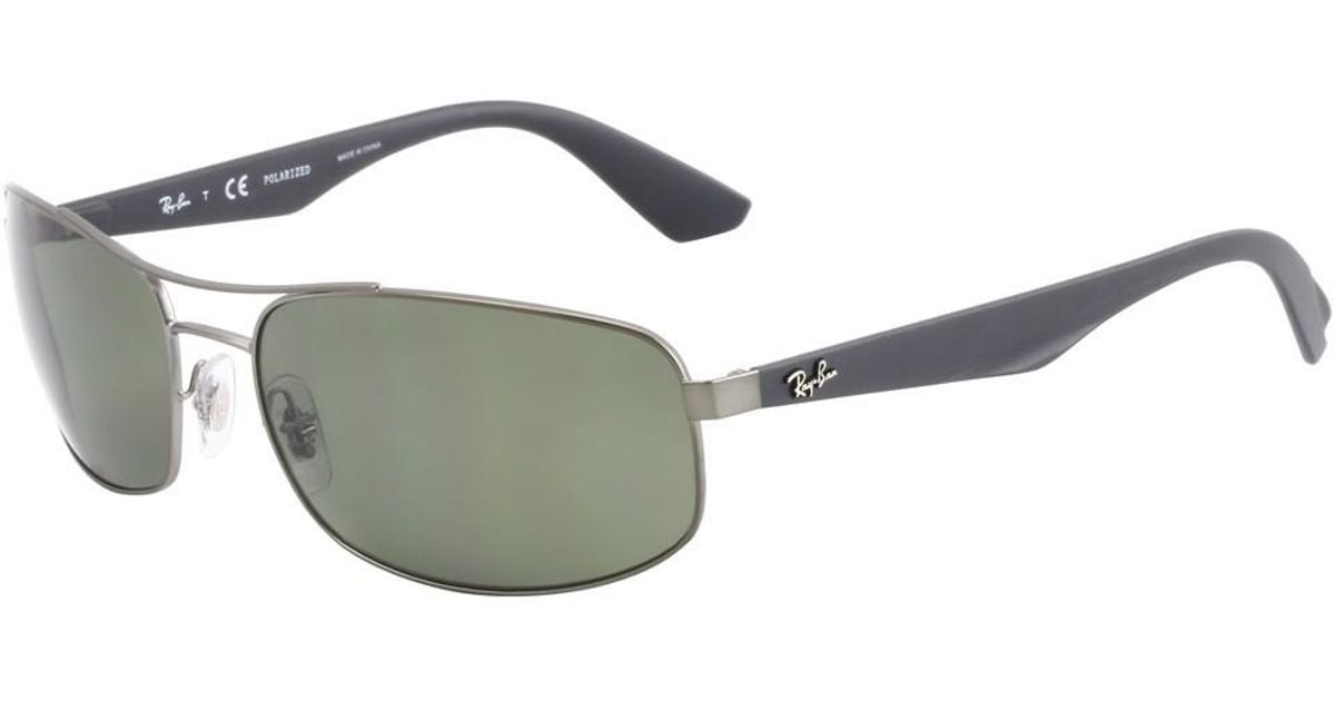 c64337d3a9 Lyst - Ray-Ban 0rb3527 029 9a 61 Matte Gunmetal polar Dark Green Active  Lifestyle Sunglasses in Green for Men