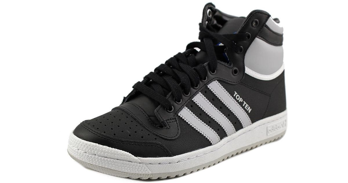 new arrival c778b 0f0fc Lyst - Adidas Originals Top Ten Hi Men Us 8.5 Black Sneakers in Black for  Men