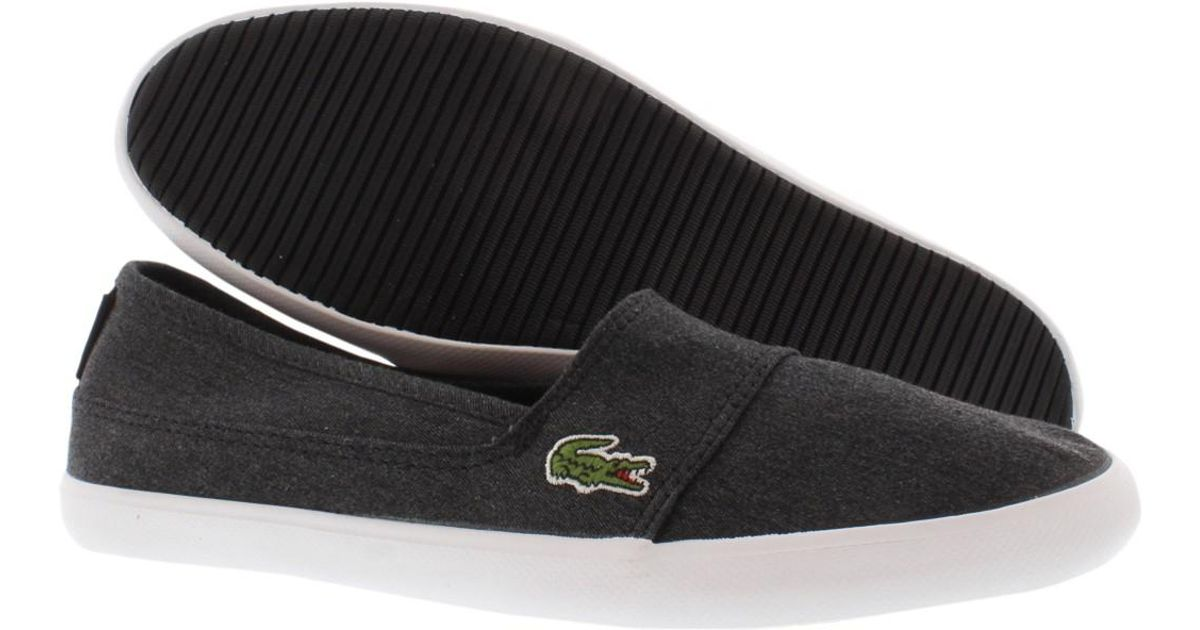c56d2c5fc789d Lyst - Lacoste Marice Csu Gradeschool Kid s Shoes Size 4.5 in Black