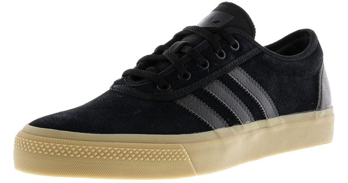 huge selection of 01432 9a45f get lyst adidas adi ease core black solid grey gum416 ankle high canvas  skateboarding shoe 10m