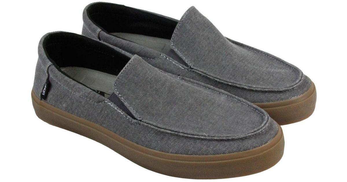 2533da575c Lyst - Vans Bali Sf Pewter Gum Mens Slip On Sneakers in Gray for Men