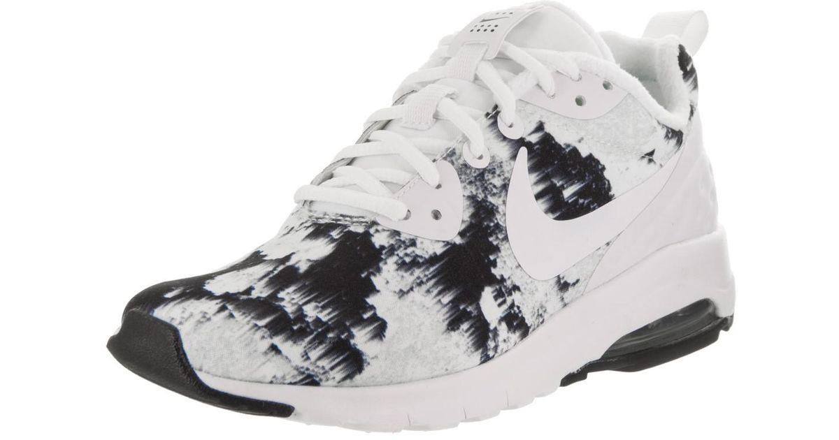 Lyst - Nike Air Max Motion Lw Print White/white Black Running Shoe 5.5  Women Us in White