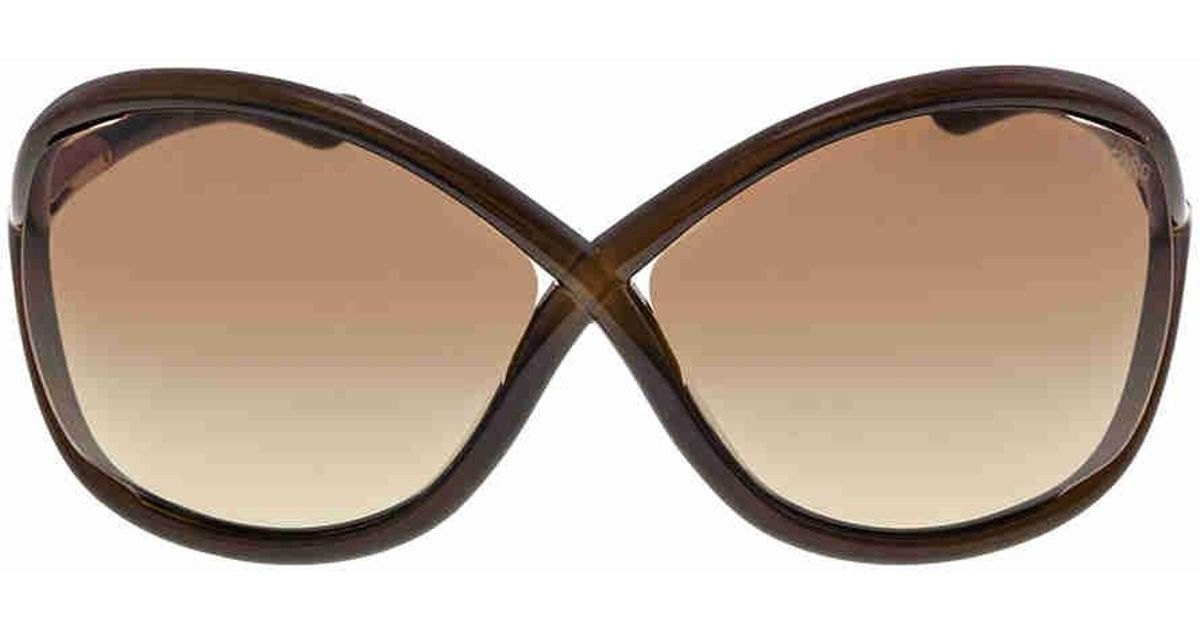 4c329dd286 Sunglasses Ford Brown Lyst 692 Whitney in Brown Tom Tf0009 waIqxFZ