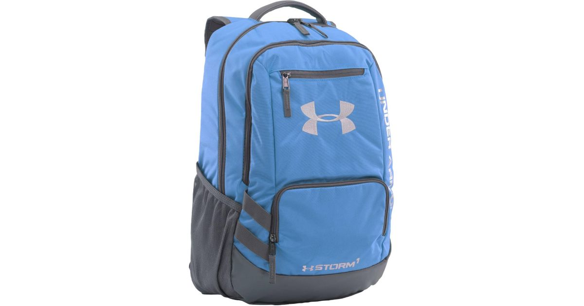 c847adc83b Lyst - Under Armour Team Hustle All Sport Backpack 1272782 in Blue
