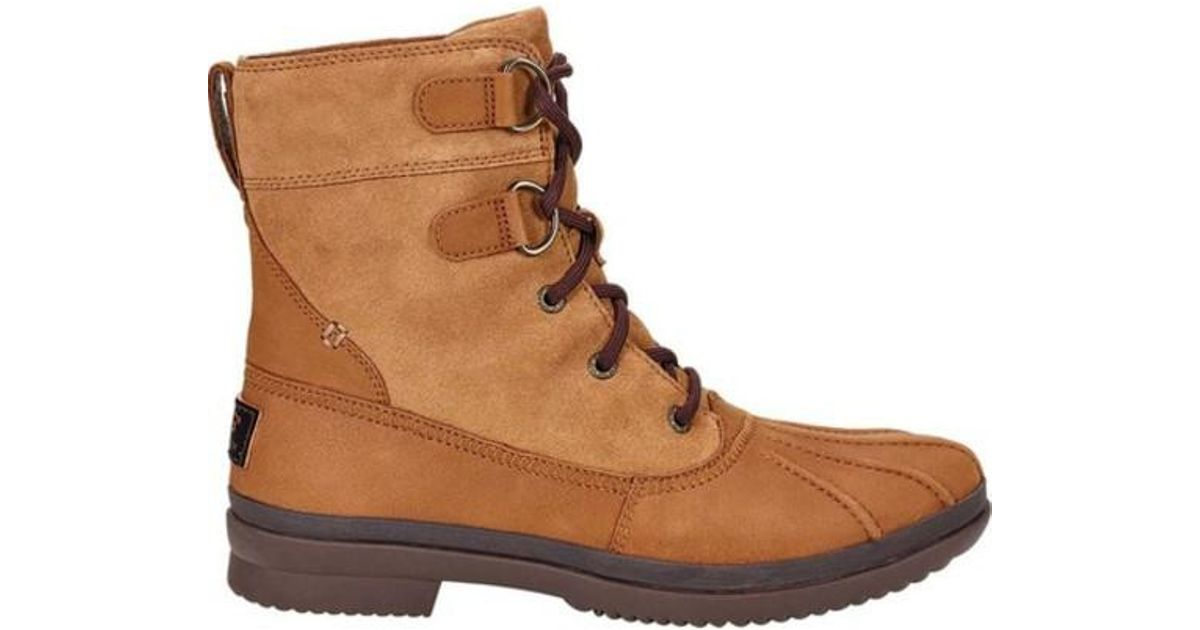 397e1f2151a Ugg - Brown Ugg Azaria Duck Boot - Lyst