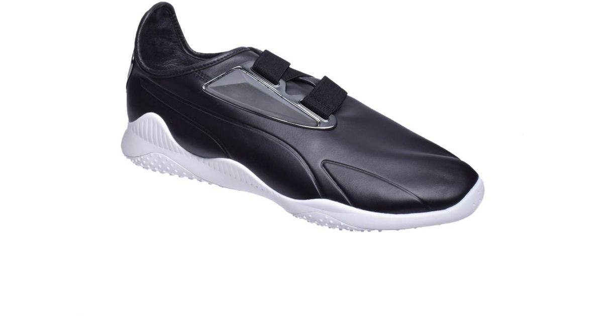 design intemporel c52be 9602d PUMA - Multicolor Mostro Perforated Leather Sneaker for Men - Lyst