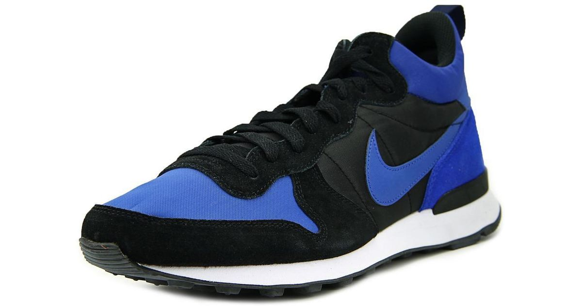 finest selection c1e9a a861e ... low price lyst nike internationalist mid men us 9 blue sneakers in blue  for men 0a162
