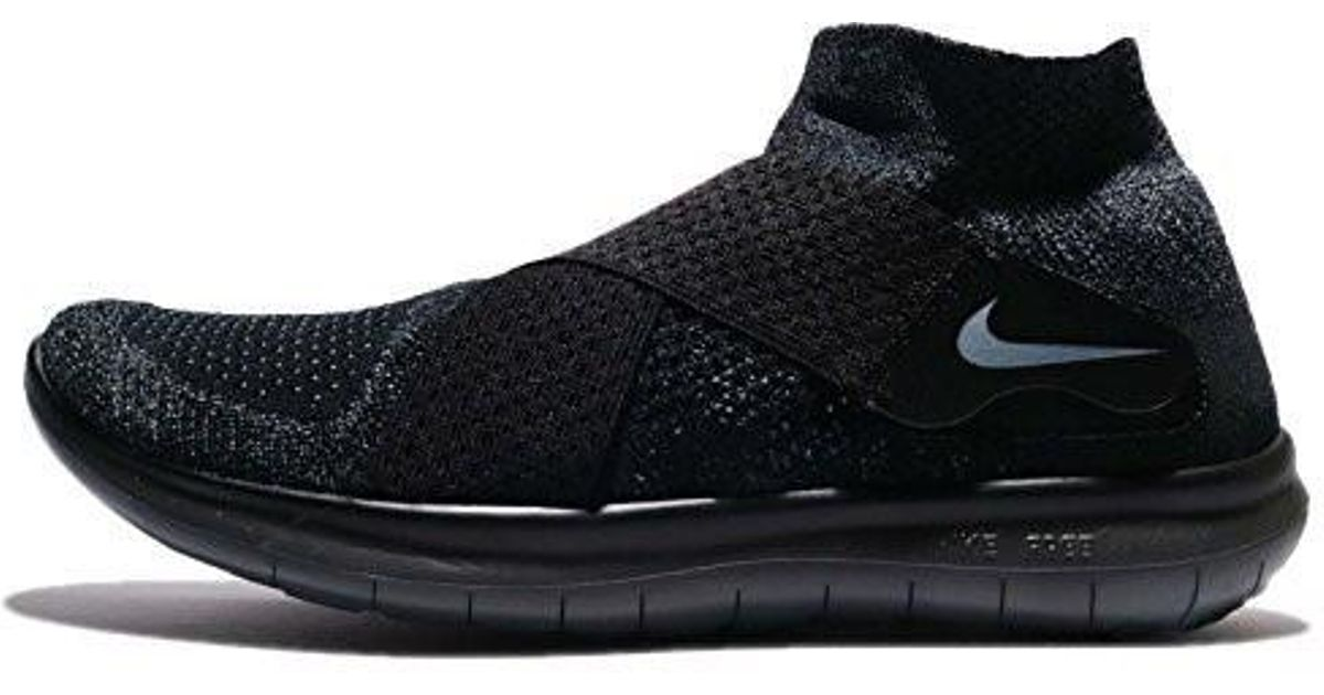 a3a95d621d89 Lyst - Nike Free Rn Motion Flyknit 2017 Running Shoe Black dark Grey- anthracite-volt 13.0 in Gray for Men