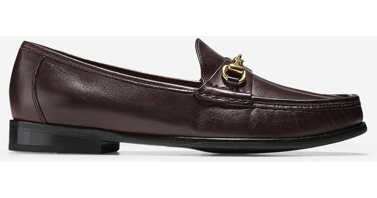 9808d3eadf9 Lyst - Cole Haan Ascot Bit Loafer in Brown for Men