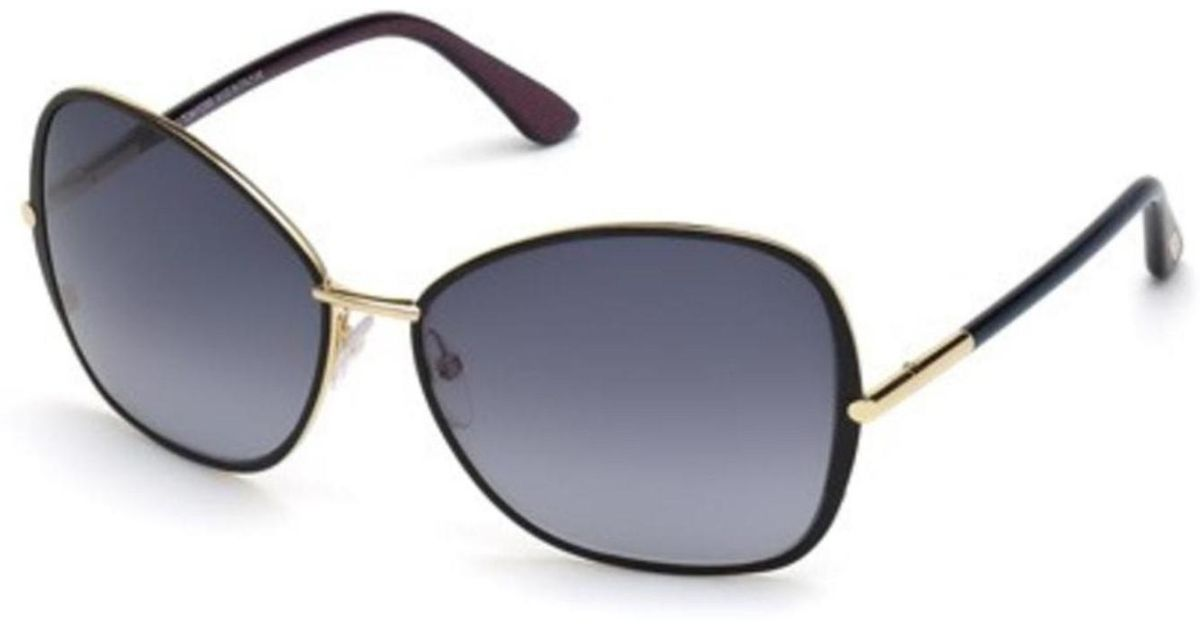 Lyst - Tom Ford Sunglasses Tf 319 Ft 32b Gold   Gradient Smoke in Metallic 634eef345e96