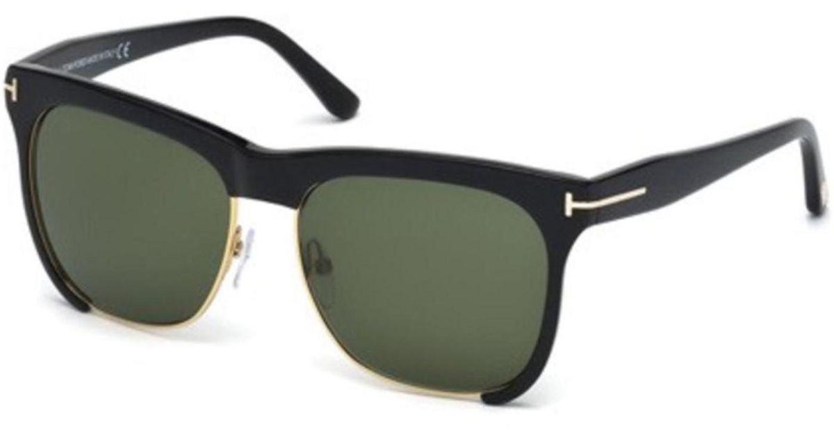 552a81106b Lyst - Tom Ford Ft0366 Thea Rectangular Sunglasses