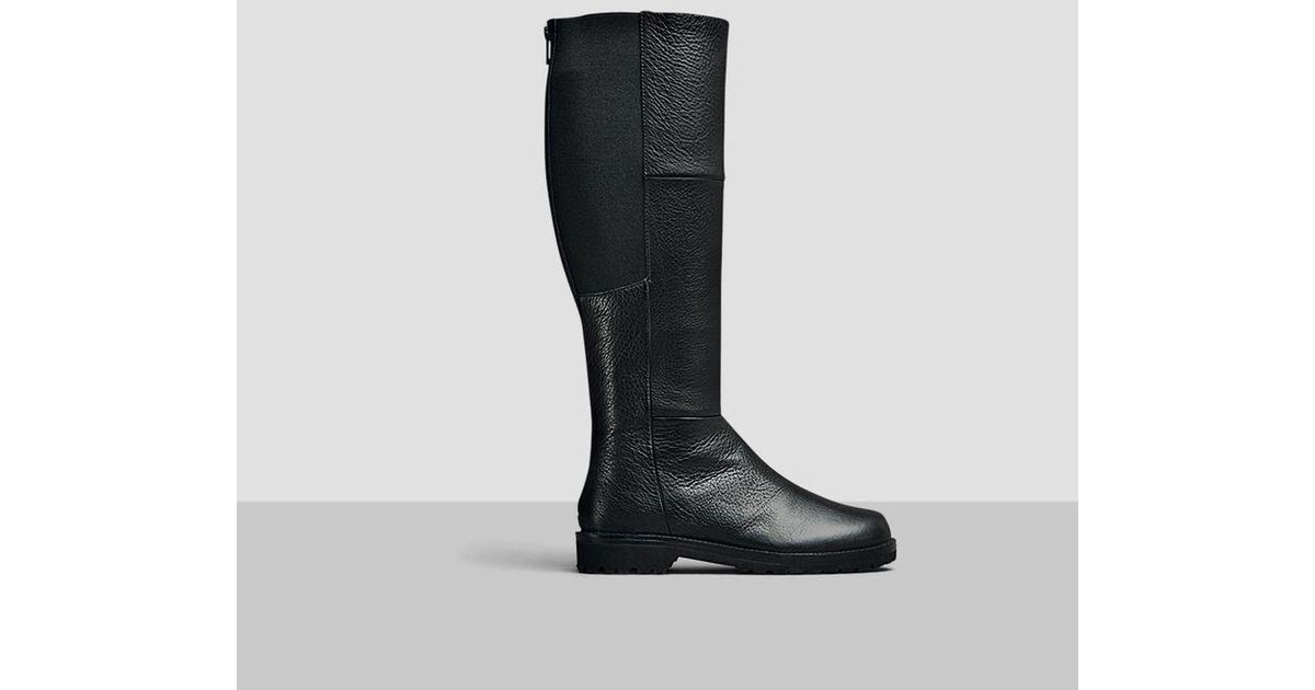 9e24797e9a5 Kenneth Cole - Black Gentle Souls By Kenneth Cole Winfield Stretch Leather  Boot - Lyst