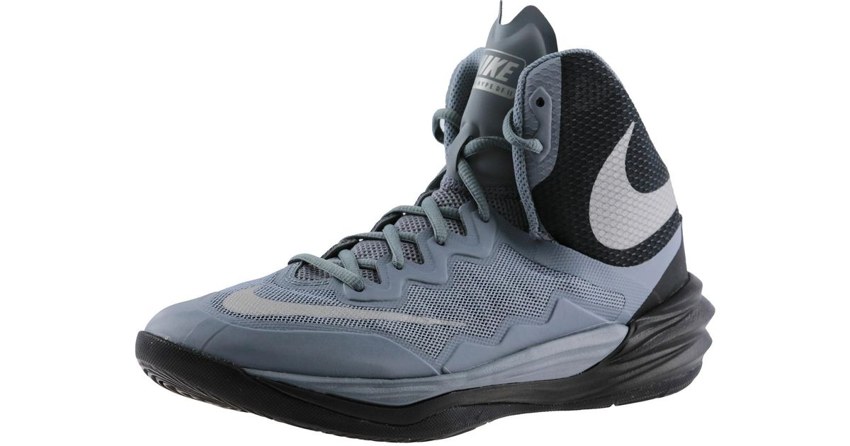 Lyst Nike Prime Hype Df Ii 003 High Top Fabric Basketball Shoe