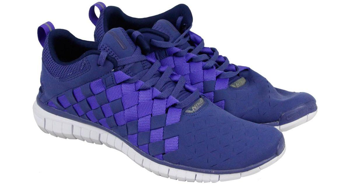 new arrival 11682 5e711 Lyst - Nike Free Og 14 Woven Blue Legend  Persian Violet-midnight Navy  Ankle-high Running Shoe in Blue for Men