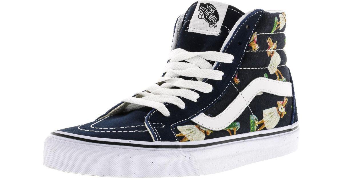 8233c26aff4a60 Vans Fashion High 5 In Reissue Canvas Hi Top Sneaker 5m Lyst Sk8 Axq0wgdF11