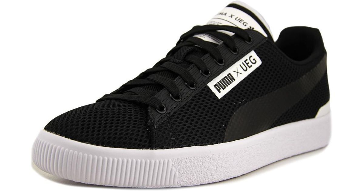327588abf1c Lyst - PUMA Court X Ueg Men Us 11 Black Fashion Sneakers in Black for Men