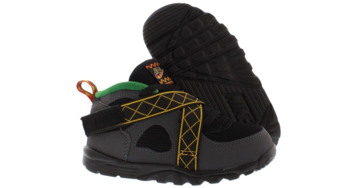 72a69939 Nike - Kid's Air Raid Infant's Shoes Grey/black/green 8 Kids Us for Men -  Lyst
