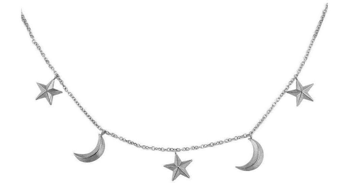 London Road Jewellery Portobello Yellow Gold Open Star Starry Night Necklace jyilnpxcQ