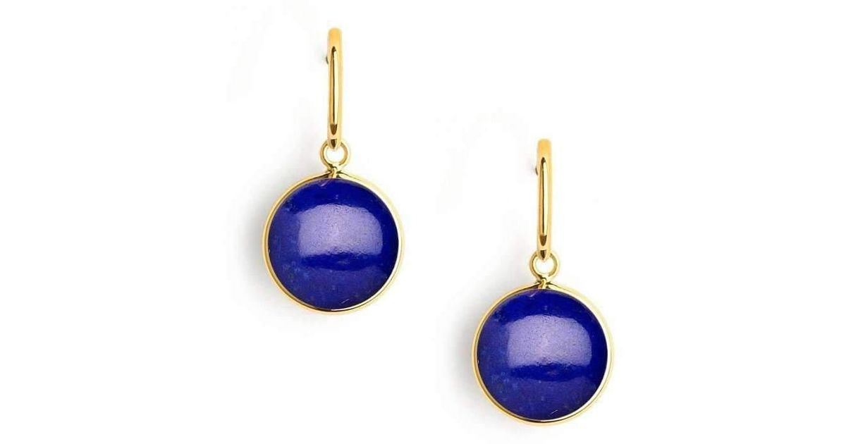 Syna 18kt Lapiz Lazuli Earrings gXbXvjGBuH