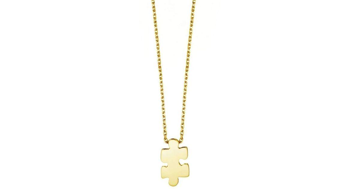 Akillis Mini Puzzle White Gold Pendant c1CrJvEU