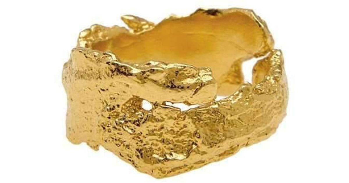 Deborah Blyth Jewellery Rose Gold Wave Bar Ring - UK U - US 10 1/4 - EU 62 3/4 y8SXaP