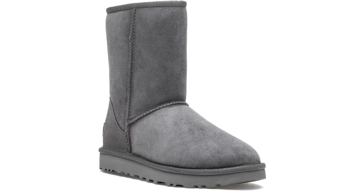 3d7cdf4446b ebay ugg classic short ii boots black suede 986ea 26d7a