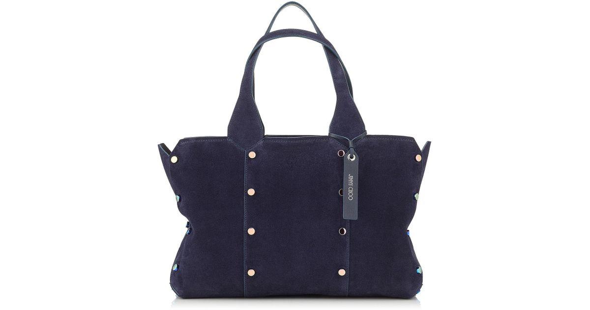 0c11ee775ab3 Jimmy Choo Lockett Shopper s in Blue - Lyst