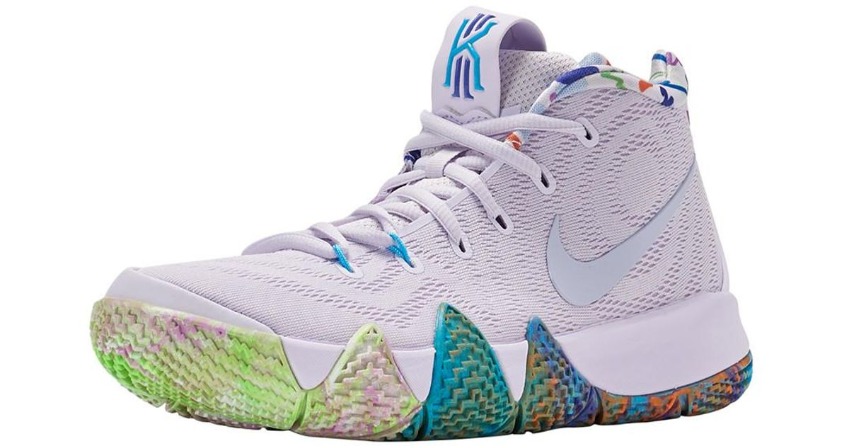 64f0718b025b6a Lyst - Nike Kyrie 4 in Blue for Men