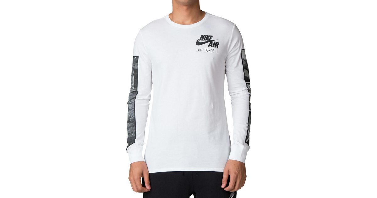 Nike White Air Force 1 Tee 2 for Men Lyst