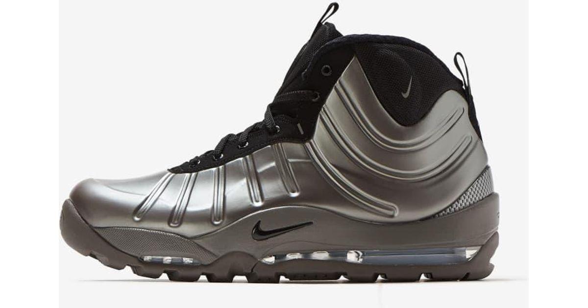 10d532d8e Lyst - Nike Air Bakin  Posite in Metallic for Men