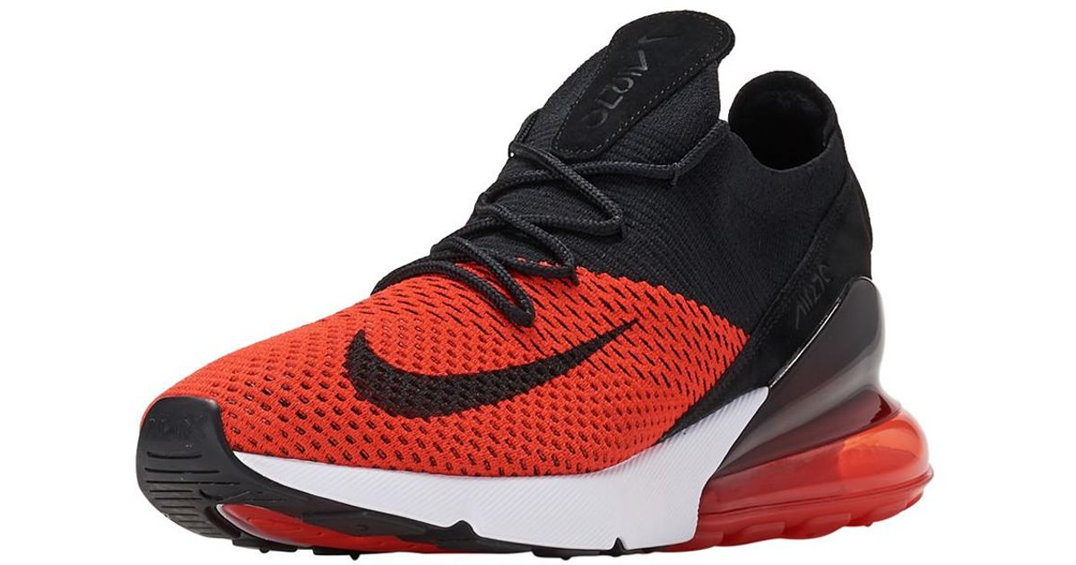 a3ff5b41154 ... canada nike air 4c019cc max 270 flyknit in red for men lyst 59768 . ...