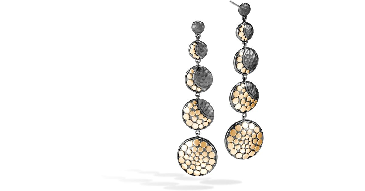 John Hardy Dot Moon Phase Drop Earrings uurTESU0U