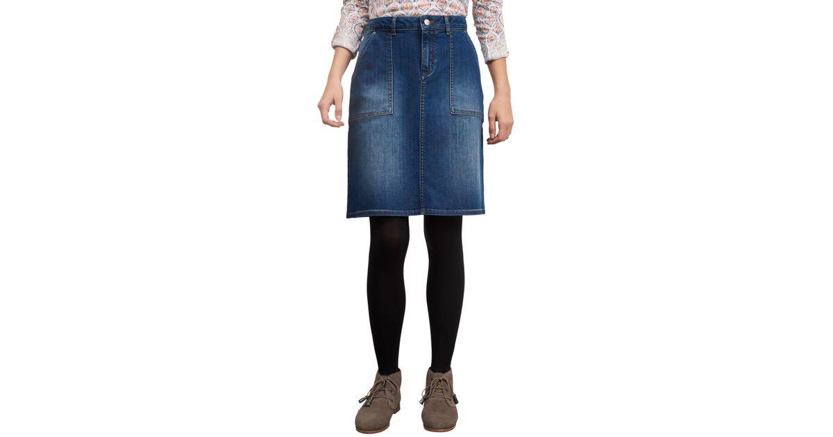 919031b450 White Stuff Carpenter Denim Skirt in Blue - Lyst