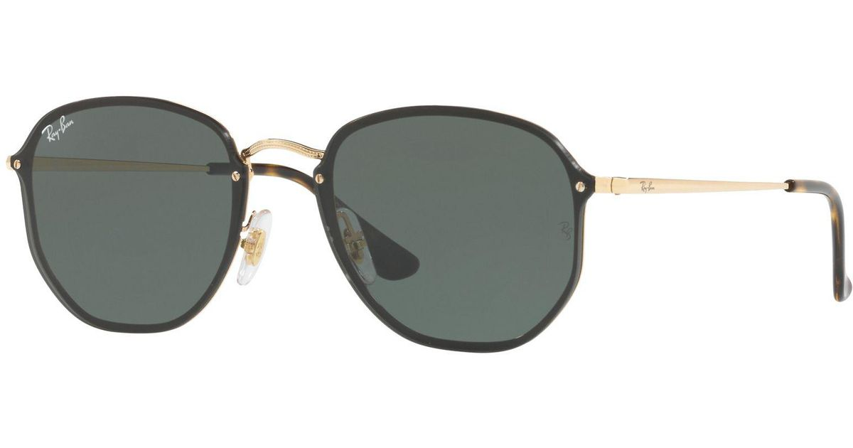 5bf4dfb863f Ray-Ban Rb3579n Blaze Hexagonal Sunglasses for Men - Lyst